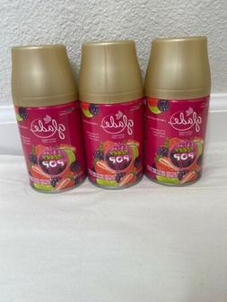 2 GLADE AUTOMATIC SPRAY REFILL ~ BERRY POP  ~ LIMITED EDITIO